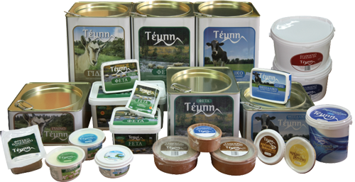 Greek Yogurt Dairy Products - Tempi